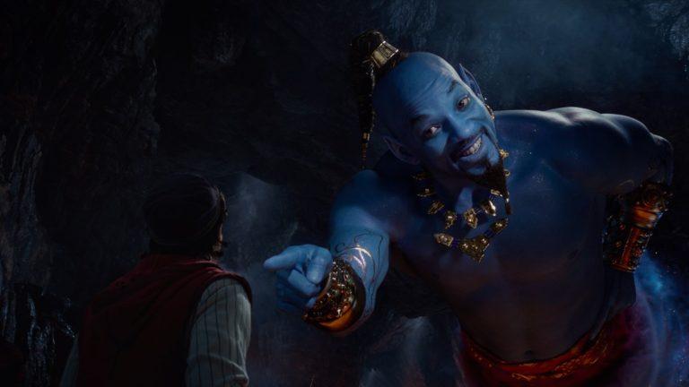 Will Smith als mystischer Genie © Disney