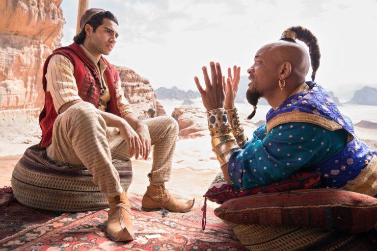 Meno Massoud und Will Smith © Disney